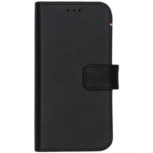 2 in 1 Leather Detachable Wallet voor de iPhone 12 Mini - Zwart