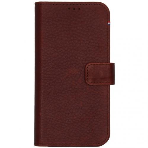 2 in 1 Leather Detachable Wallet voor de iPhone 12 (Pro) - Bruin