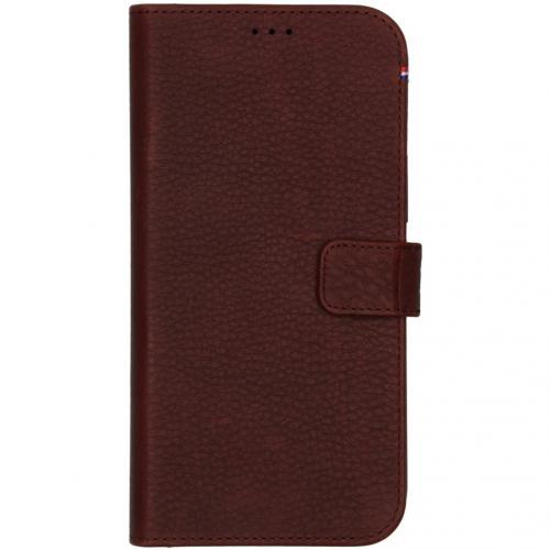 2 in 1 Leather Detachable Wallet voor de iPhone 12 Pro Max - Bruin