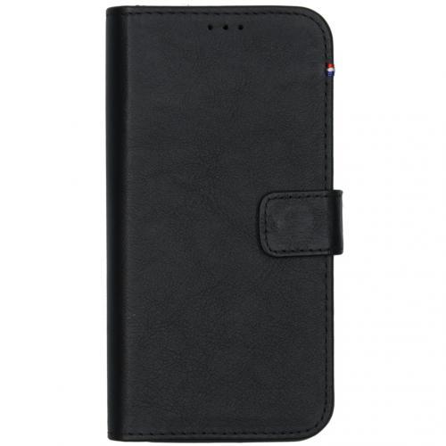 2 in 1 Leather Detachable Wallet voor de iPhone 12 (Pro) - Zwart