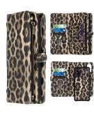 2-in-1 Wallet Booktype voor de Samsung Galaxy S20 - Leopard