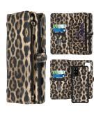 2-in-1 Wallet Booktype voor de Samsung Galaxy S20 Plus - Leopard