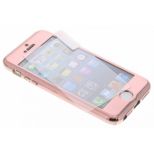 360° Effen Protect Backcover voor iPhone SE / 5 / 5s - Rosé goud