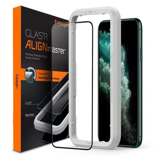 AlignMaster Full Cover Screenprotector voor de iPhone 11 Pro Max