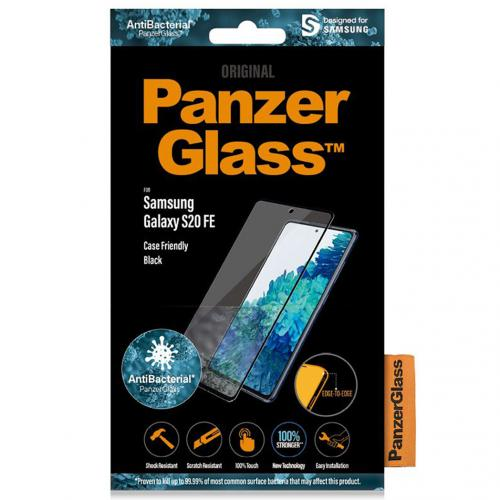 Anti-Bacterial Case Friendly Screenprotector voor de Samsung Galaxy S20 FE
