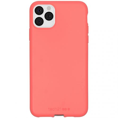 Antimicrobial Backcover voor de iPhone 11 Pro Max - Coral