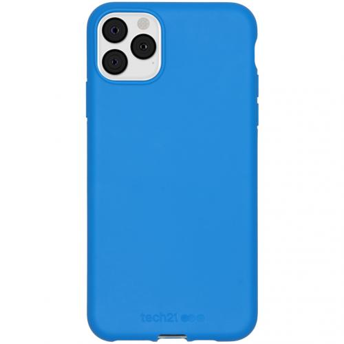 Antimicrobial Backcover voor de iPhone 11 Pro Max - Cornflour Blue