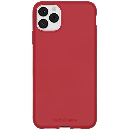 Antimicrobial Backcover voor de iPhone 11 Pro Max - Terra Red
