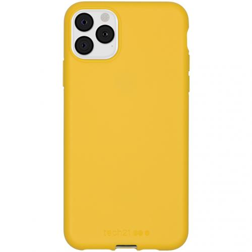 Antimicrobial Backcover voor de iPhone 11 Pro Max - Yellow