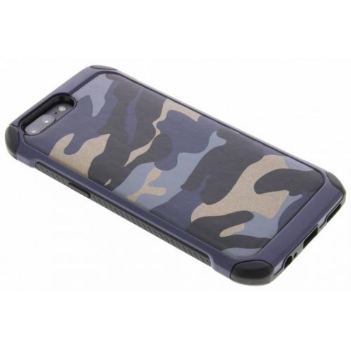 Army Defender Backcover voor OnePlus 5 - Blauw