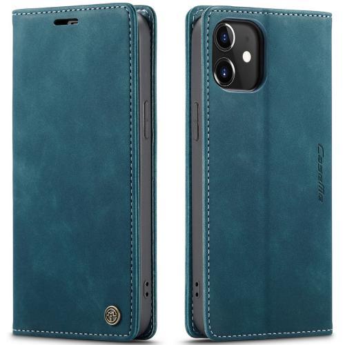 Bookcase voor de iPhone 12 (Pro) - Blauw