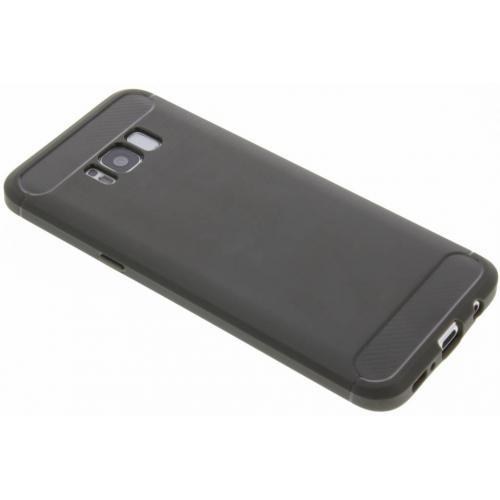 Brushed Backcover voor Samsung Galaxy S8 Plus - Grijs