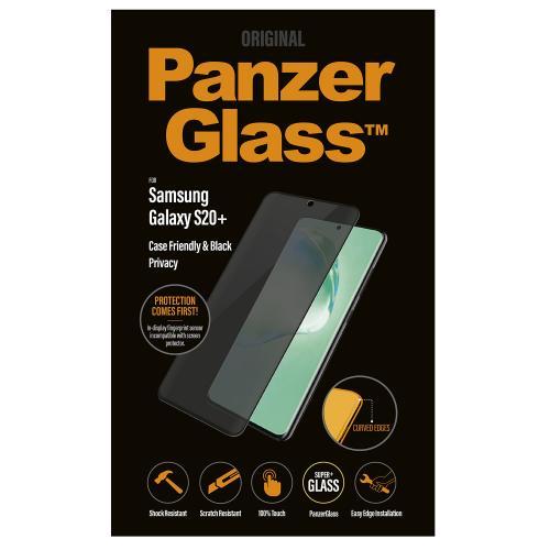 Case Friendly Privacy Screenprotector voor de Samsung Galaxy S20 Plus