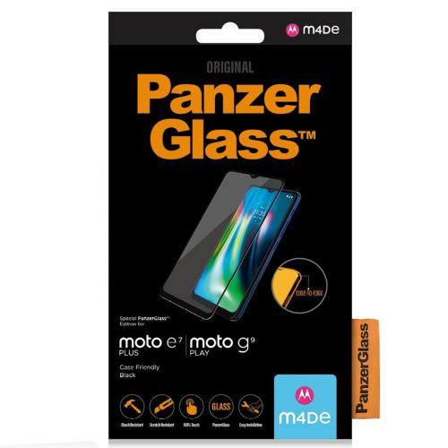 Case Friendly Screenprotector voor de Motorola Moto E7 Plus / G9 Play