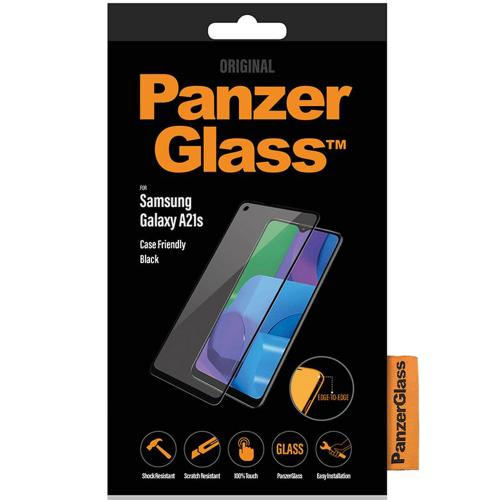 Case Friendly Screenprotector voor de Samsung Galaxy A21s