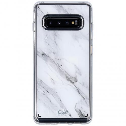 Ciel by Cyrill Cecile Backcover voor de Samsung Galaxy S10 Plus - Marble