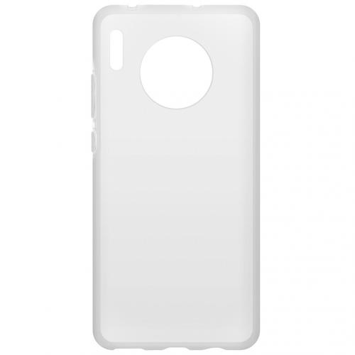 Clear Backcover voor de Huawei Mate 30 - Transparant