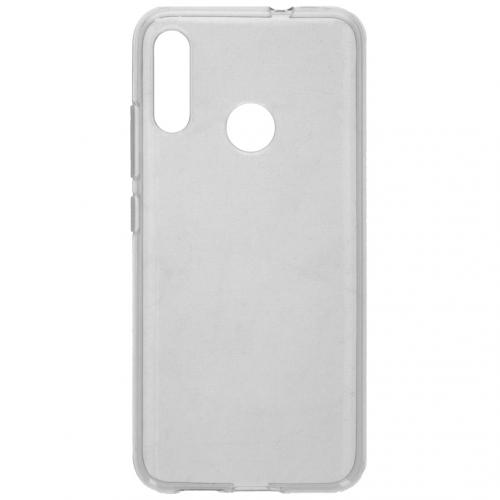 Clear Backcover voor de Motorola Moto E6 Plus - Transparant