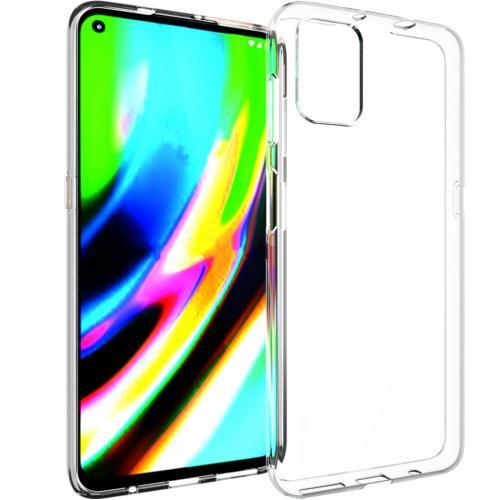 Clear Backcover voor de Motorola Moto G9 Plus - Transparant