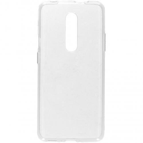 Clear Backcover voor de OnePlus 7 Pro - Transparant
