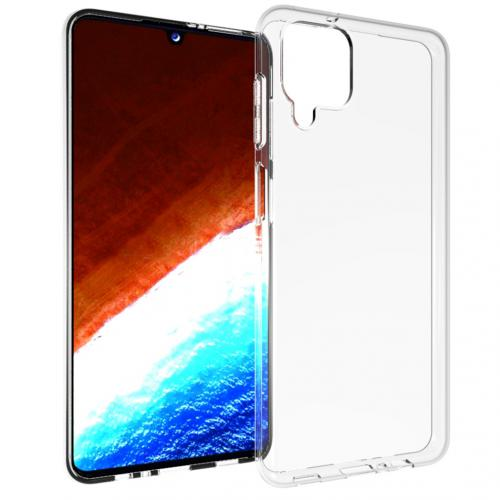 Clear Backcover voor de Samsung Galaxy A12 - Transparant
