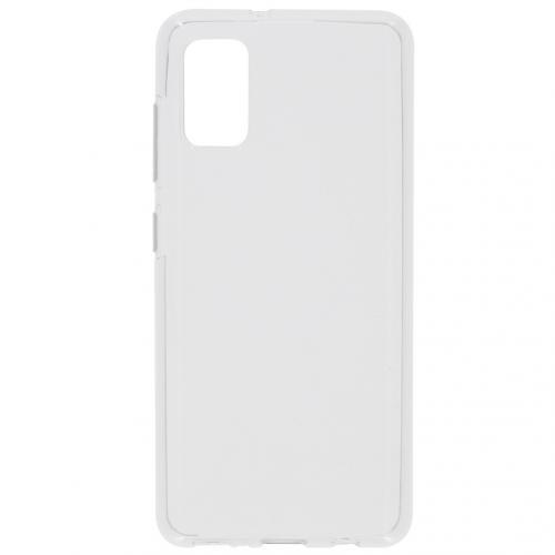 Clear Backcover voor de Samsung Galaxy A41 - Transparant