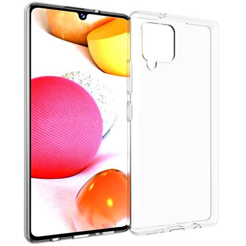 Clear Backcover voor de Samsung Galaxy A42 - Transparant