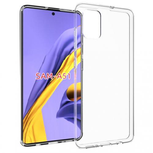 Clear Backcover voor de Samsung Galaxy A51 - Transparant