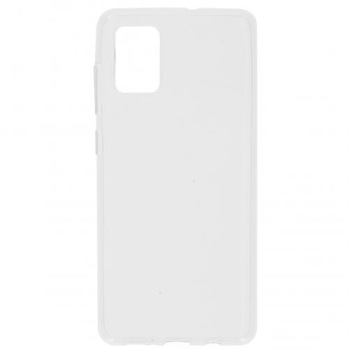 Clear Backcover voor de Samsung Galaxy A71 - Transparant