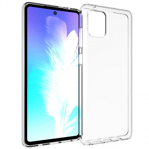 Clear Backcover voor de Samsung Galaxy Note 10 Lite - Transparant