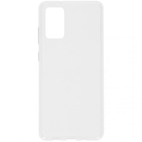 Clear Backcover voor de Samsung Galaxy S20 Plus - Transparant