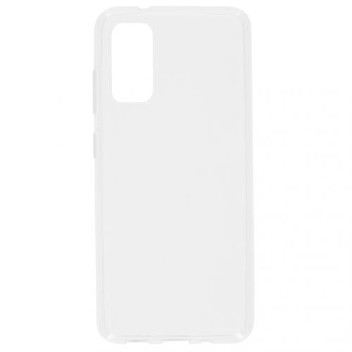 Clear Backcover voor de Samsung Galaxy S20 - Transparant