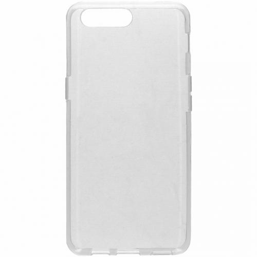 Clear Backcover voor OnePlus 5 - Transparant