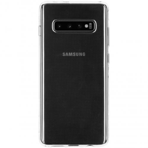Clear Backcover voor Samsung Galaxy S10 Plus - Transparant