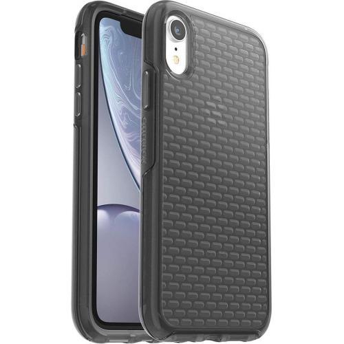 Clear Case + Alpha Glass Screenprotector voor de iPhone Xr - Zwart