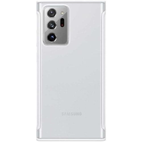 Clear Protective Backcover voor de Galaxy Note 20 Ultra - Transparant / Wit
