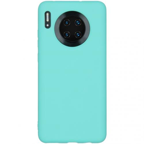 Color Backcover Huawei Mate 30 - Mintgroen