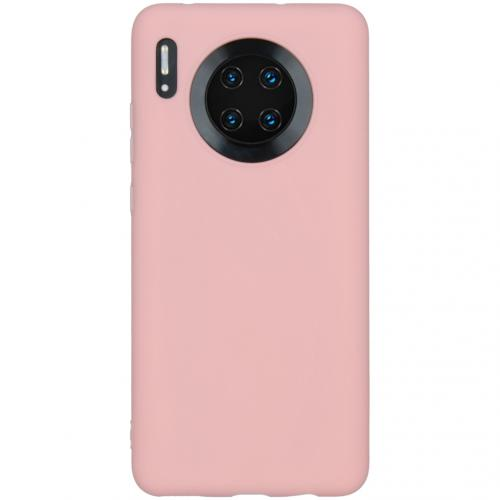 Color Backcover Huawei Mate 30 - Roze