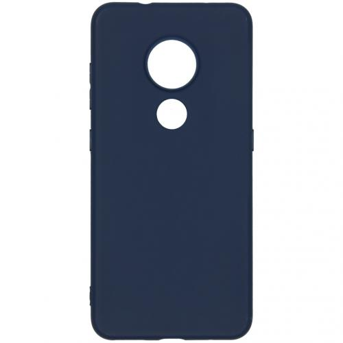 Color Backcover Nokia 6.2 / Nokia 7.2 - Donkerblauw