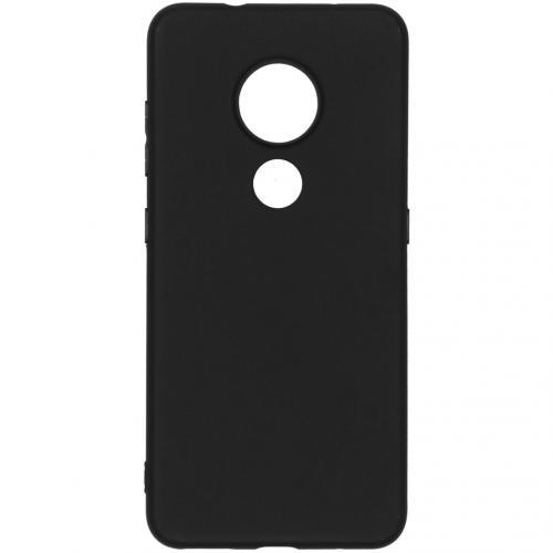 Color Backcover Nokia 6.2 / Nokia 7.2 - Zwart