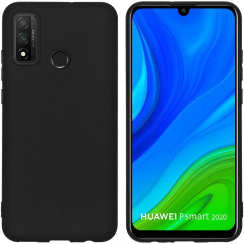 Color Backcover voor de Huawei P Smart (2020) - Zwart