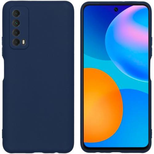 Color Backcover voor de Huawei P Smart (2021) - Donkerblauw