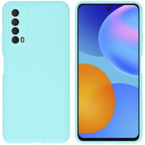Color Backcover voor de Huawei P Smart (2021) - Mintgroen