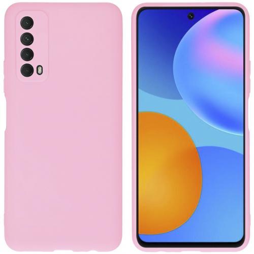 Color Backcover voor de Huawei P Smart (2021) - Roze