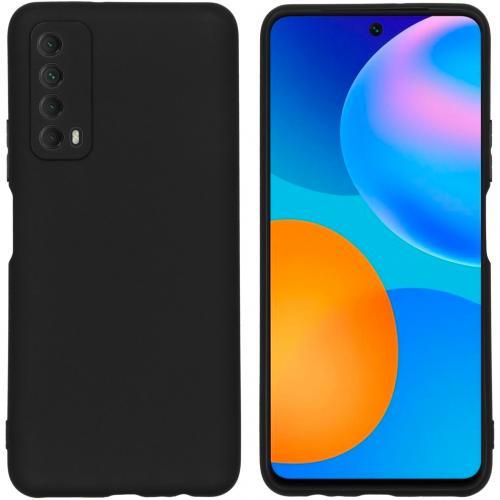 Color Backcover voor de Huawei P Smart (2021) - Zwart