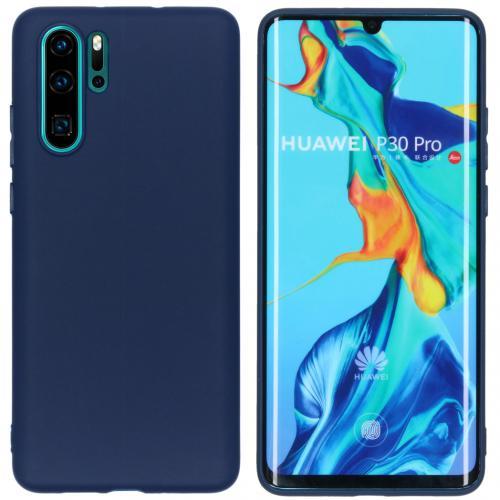 Color Backcover voor de Huawei P30 Pro - Donkerblauw