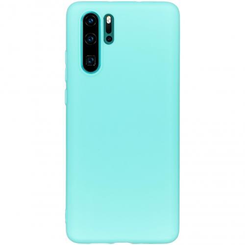 Color Backcover voor de Huawei P30 Pro - Mintgroen