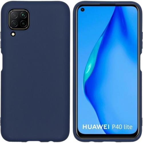 Color Backcover voor de Huawei P40 Lite - Donkerblauw