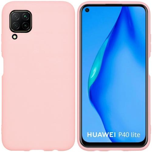 Color Backcover voor de Huawei P40 Lite - Roze