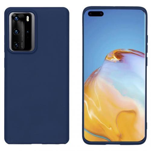 Color Backcover voor de Huawei P40 Pro - Donkerblauw